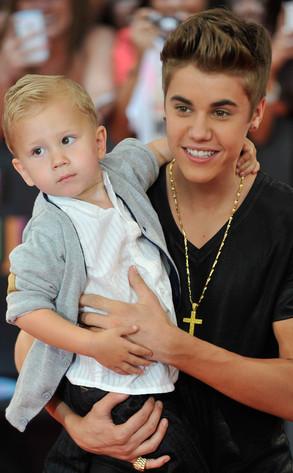 Jaxon Bieber, Justin Bieber