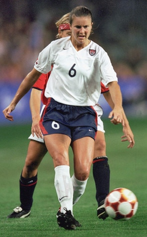 Awesome Olympians, Brandi Chastain