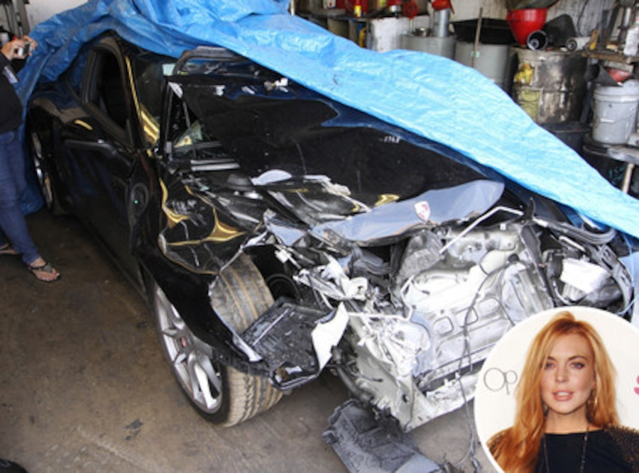 Lindsay Lohan, Car