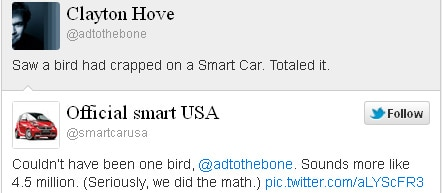 Smart Car Tweets Soup