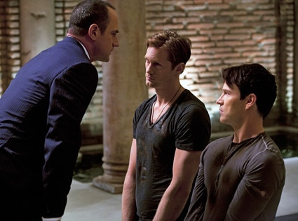 TRUE BLOOD, Chris Meloni, Alexander Skarsgard, Stephen Moyer
