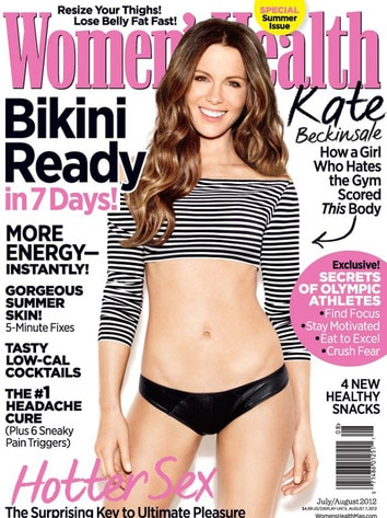 Kate Beckinsale, Women's Health