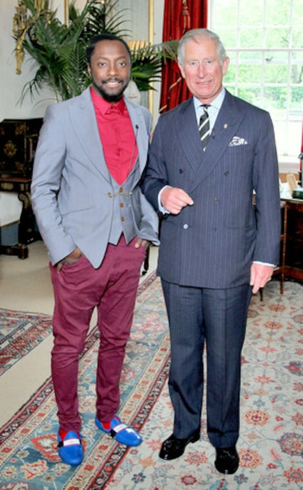 will.i.am, Prince Charles, Prince of Wales