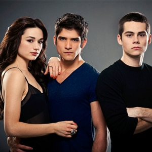 Tyler Posey, Dylan O'Brien, Crystal Reed, Teen Wolf