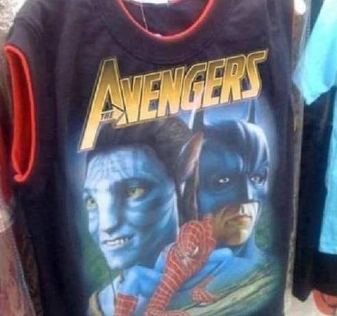 Soup Avengers t-shirt X2