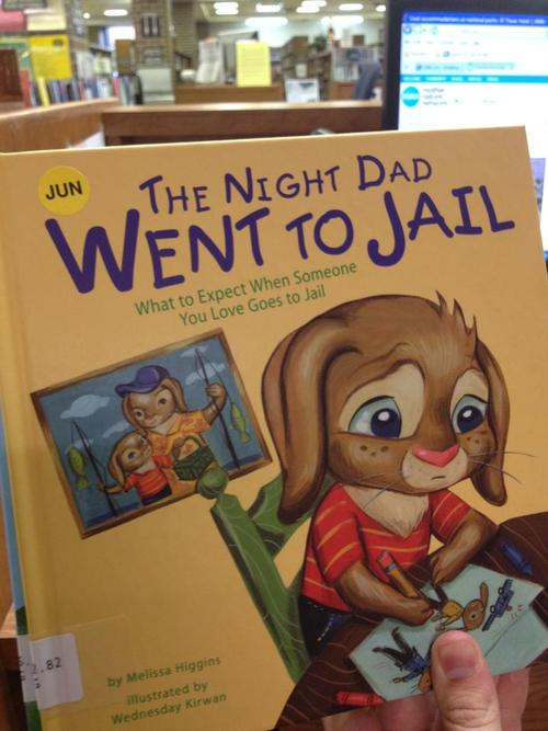 Dad Jail Book Soup X2