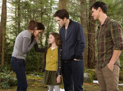 Kristen Stewart, Robert Pattinson, Mackenzie, Taylor Lautner, Breaking Dawn Part 2