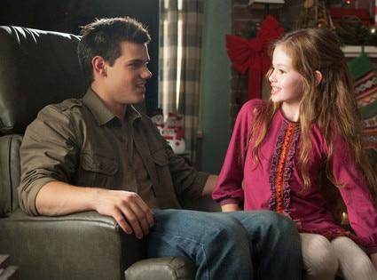 Taylor Lautner, Mackenzie Foy, Breaking Dawn Part 2