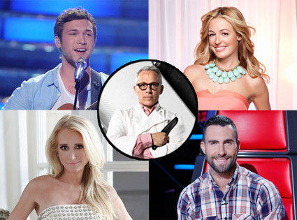So You Think You Can Dance, American Idol, Real Housewives of Beverly Hills, The Voice
