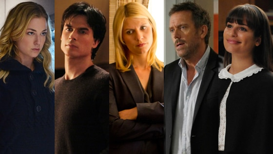 Emily VanCamp, Revenge, Ian Somerhalder, The Vampire Diaries, Lea Michele, Glee, Hugh Laurie, House, Claire Danes, Homeland