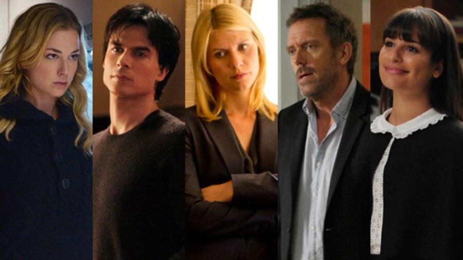 Emily VanCamp, Revenge, Ian Somerhalder, The Vampire Diaries, Lea Michele, Glee, Hugh Laurie, House, Claire Danes, Homeland