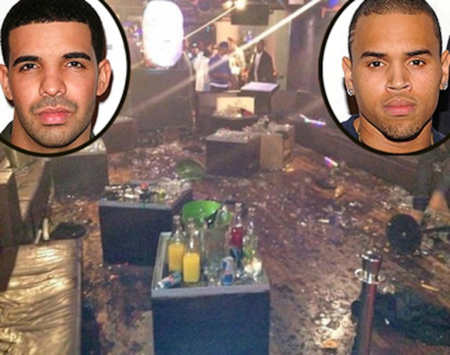 Chris Brown, Drake
