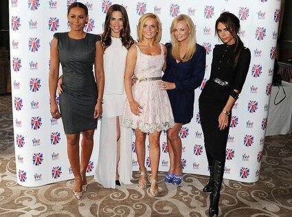 Brown, Melanie Chisholm, Geri Halliwell, Emma Bunton, Victoria Beckham, Spice Girls