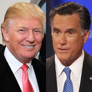 Donald Trump, Mitt Romney
