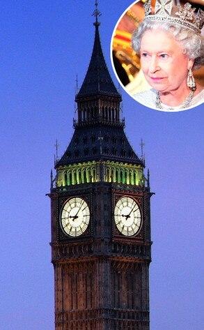 Big Ben, Queen Elizabeth