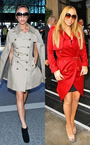 Victoria Beckham, Mariah Carey