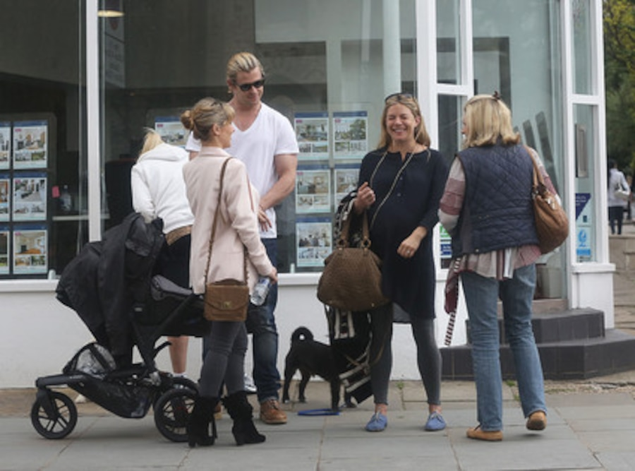 Sienna Miller, Chris Hemsworth, Elsa Pataky