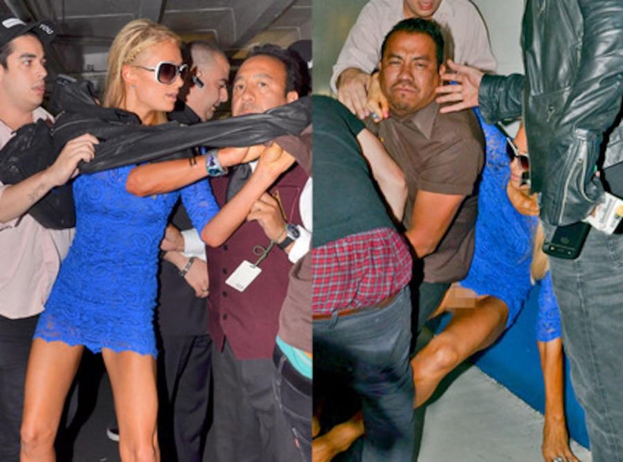 Paris Hilton, Bodyguards, Papparazzi