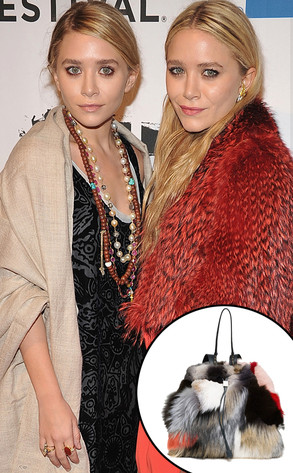 Ashley Olsen, Mary-Kate Olsen, Fur Bag
