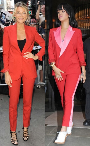 Rihanna, Blake Lively