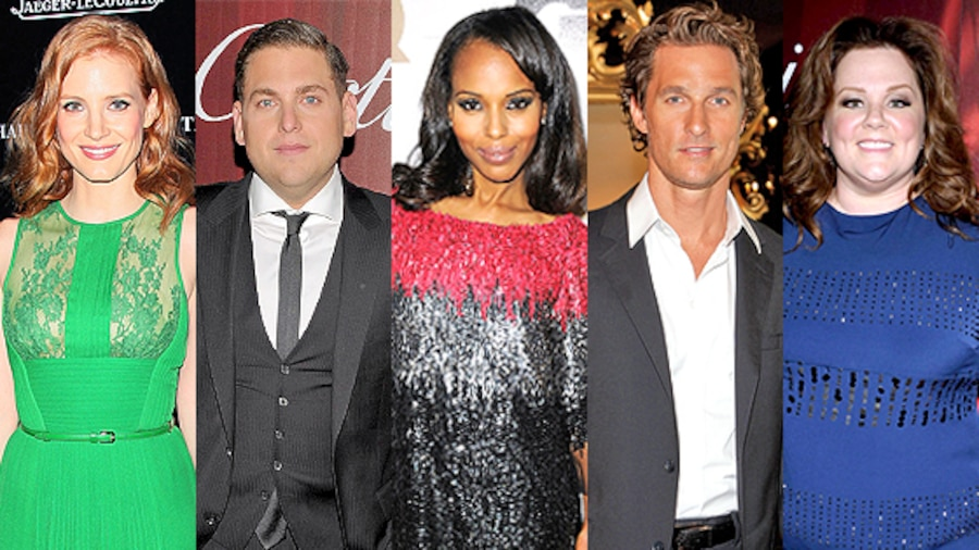 Melissa McCarthy, Matthew McConaughey, Jessica Chastain, Kerry Washintgton, Jonah Hill