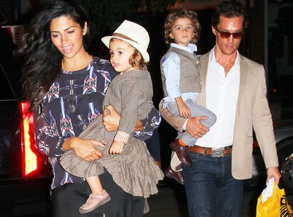 Mcconaughey and camila alves set to welcome child no 3 e news