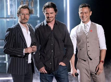 MTV Movie Awards Show, Christian Bale, Joseph Gordon-Levitt, Gary Oldman