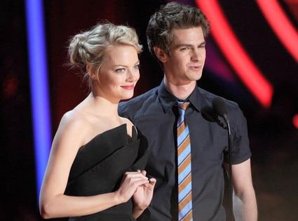 MTV Movie Awards Show, Emma Stone, Andrew Garfield