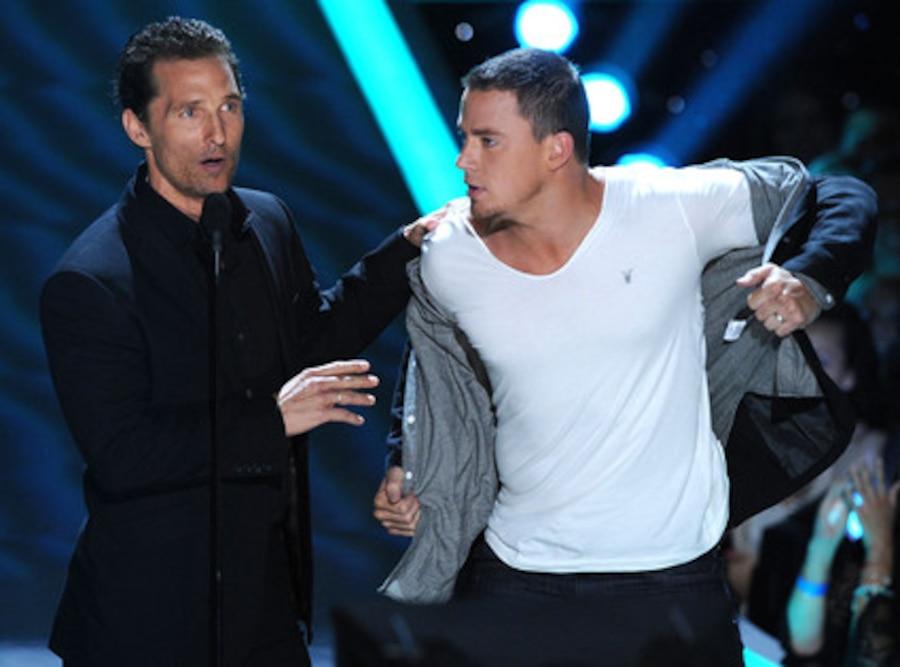 MTV Movie Awards, Matthew McConaughey, Channing Tatum