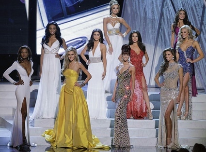 Miss USA Pageant Top 10 Finalists