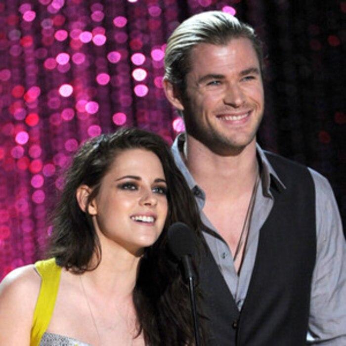 MTV Movie Awards Show, Kristen Stewart, Chris Hemsworth