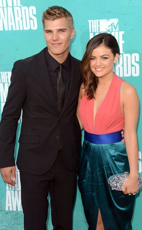 MTV Movie Awards, Chris Zylka, Lucy Hale