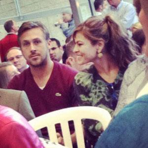 Ryan Gosling, Eva Mendes, instagr.am