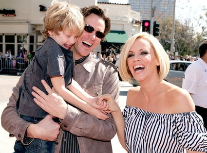 Evan Asher, Jim Carrey, Jenny McCarthy
