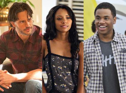 Joe Manganiello, True Blood, Kat Graham, The Vampire Diaries, Tristan Wilds, 90210
