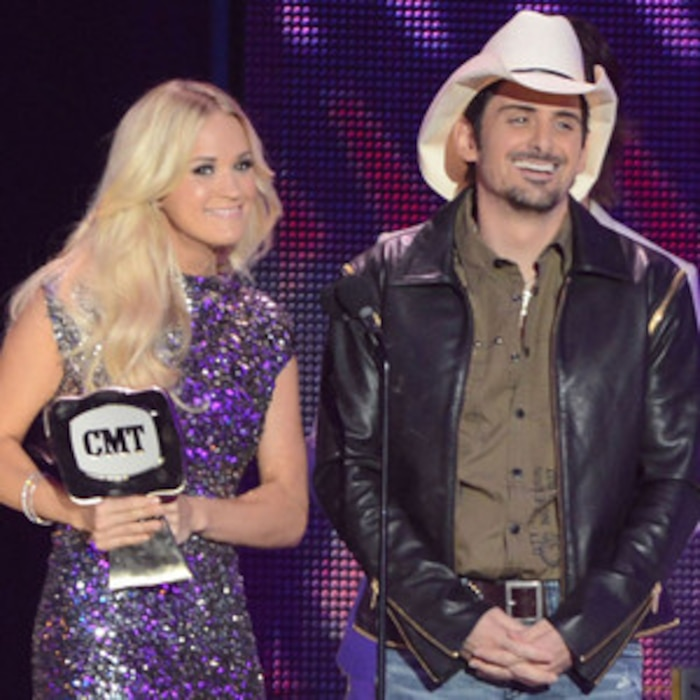 Carrie Underwood, Brad Paisley, CMT Awards