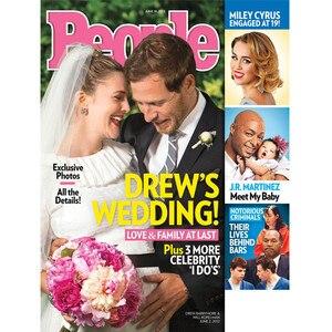 Drew Barrymore, People Magazine