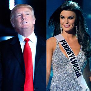 Donald Trump, Sheena Monnin Miss Pennsylvania