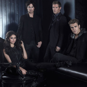 Nina Dobrev, Ian Somerhalder, Paul Wesley and Joseph Morgan