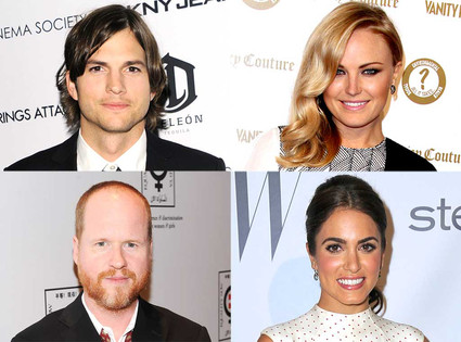 Ashton Kutcher, Malin Akerman, Joss Whedon and Nikki Reed