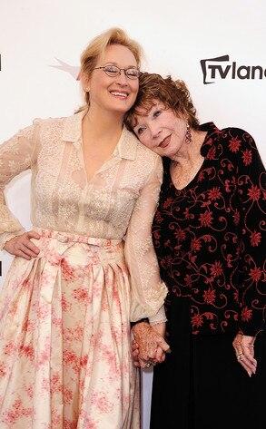 Meryl Streep, Shirley MacLain
