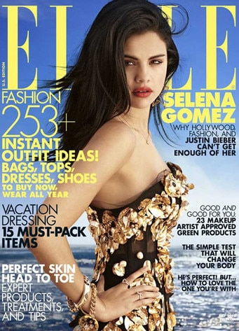 Selena Gomez, Elle Magazine Cover
