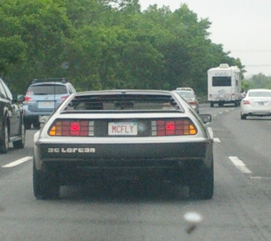 Back to The Future Car Soup X2