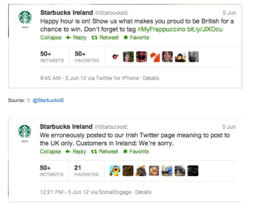 Starbucks Tweets Soup