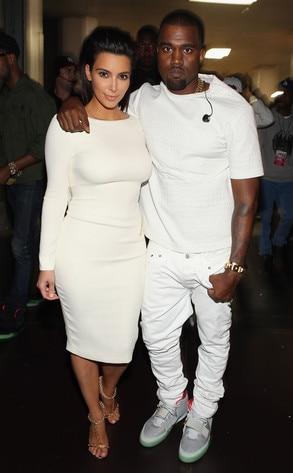 BET Awards, Kim Kardashian, Kanye West