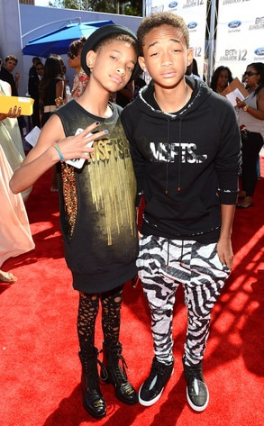BET Awards, Willow Smith, Jaden Smith