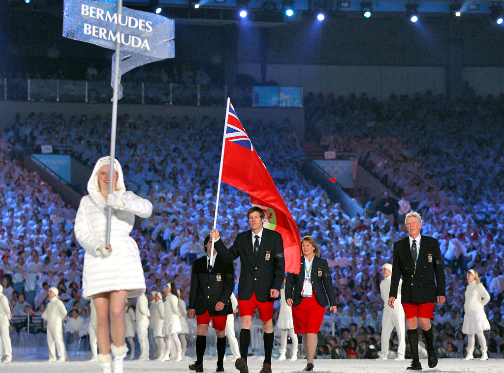 Tucker Murphy, Bermuda at Vancouver 2010 Opening Ceremony