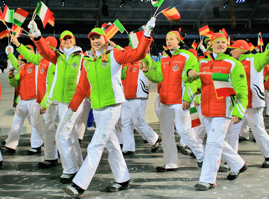 Germany at Turin 2006 Opening Ceremony