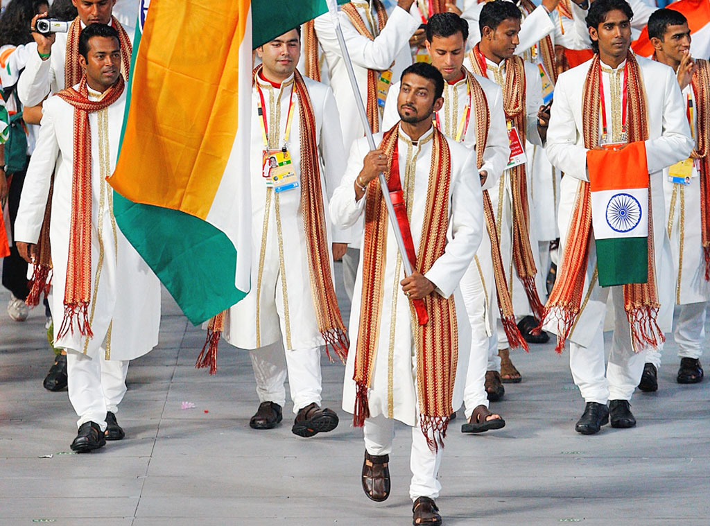India at Beijing 2008 Opening Ceremony, Rajvardhan Singh Rathore