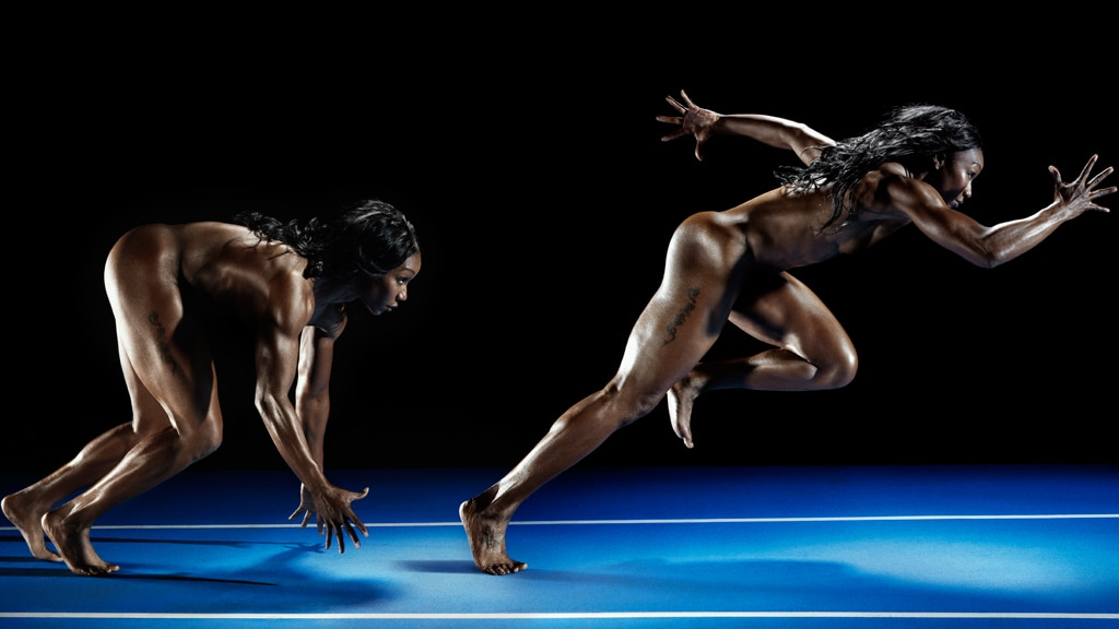 Carmelita Jeter, Naked Athletes, ESPN